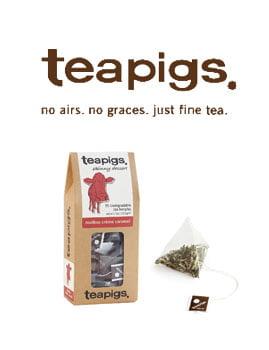 Teapigs - Lekfullt te helt fritt från besprutningsmedel och andra konstigheter